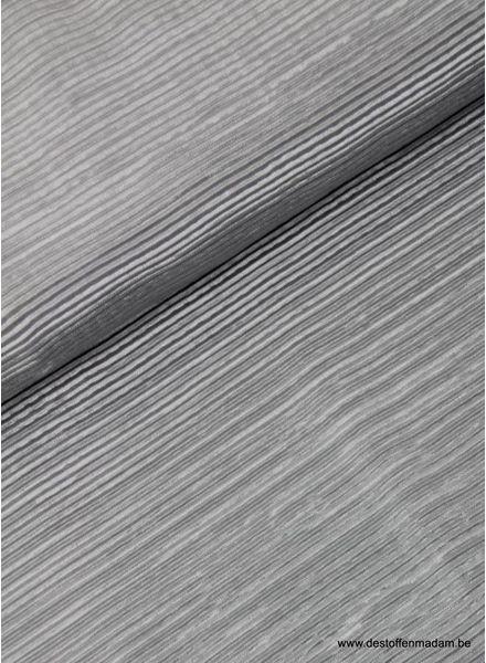 grey - plisse