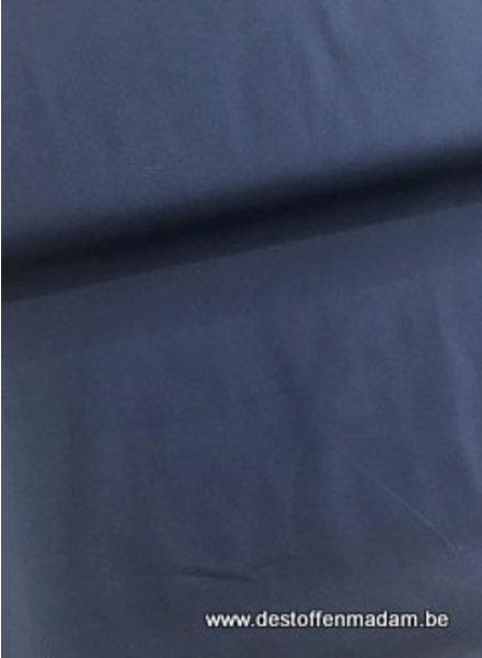 marineblauwe - satijn katoen