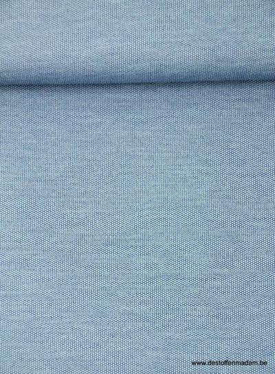 jeansblauwe polyviscose