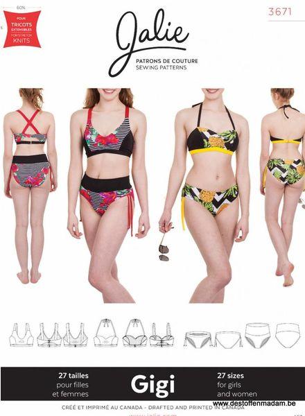 Jalie 3671 - bikini patroon