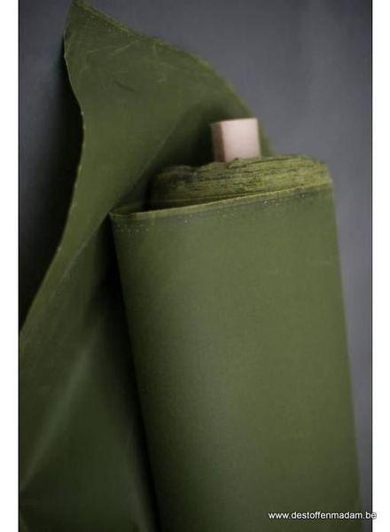 dry oilskin - grass green