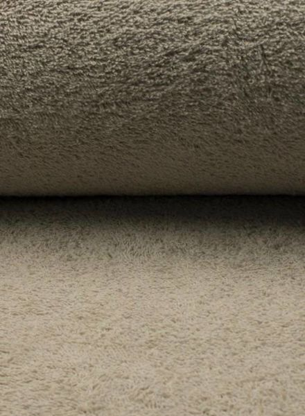 taupe terry fabric