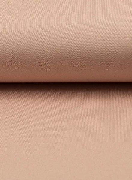zacht zalm roze gabardine - stretchkatoen