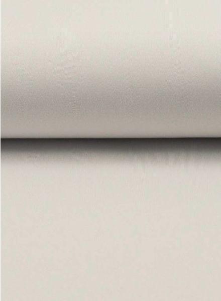 white spandex twill