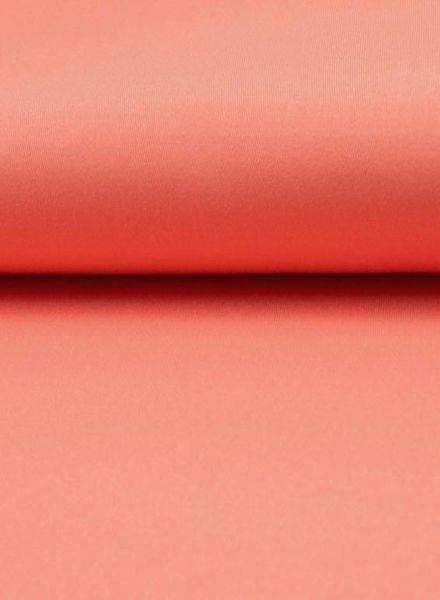 perzik gabardine - stretchkatoen