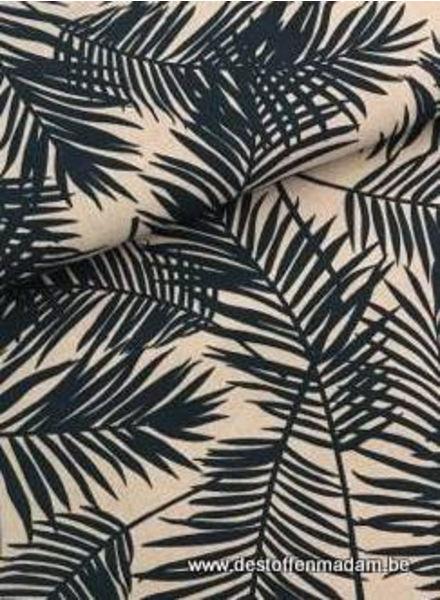 green ferns- deco fabric