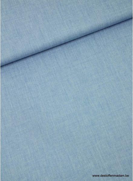 gebleekt blauw -  zachte hemden katoen