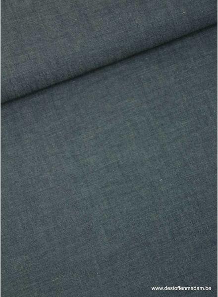 gebleekt antraciet - zachte hemden katoen