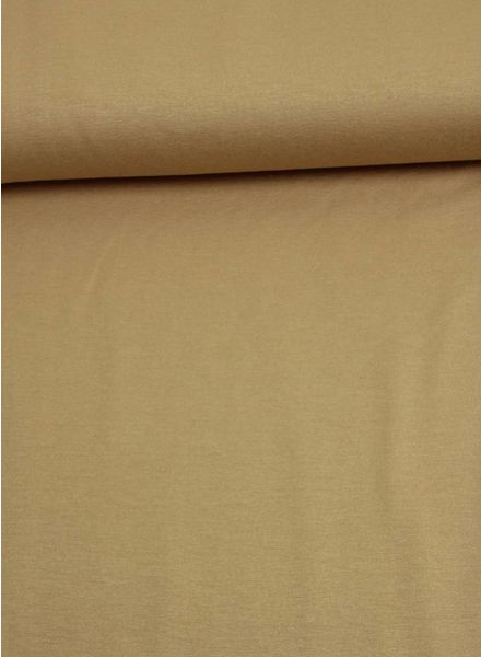 poeder bruin -  italiaanse viscose tricot