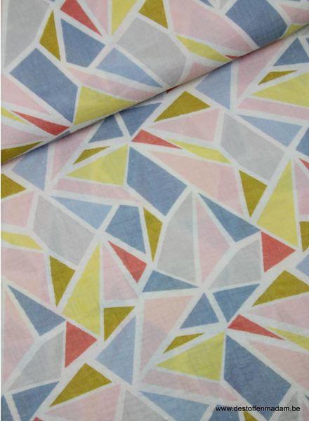 geometrisch tetra - double gauze