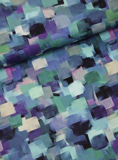 artistic squares - crepe