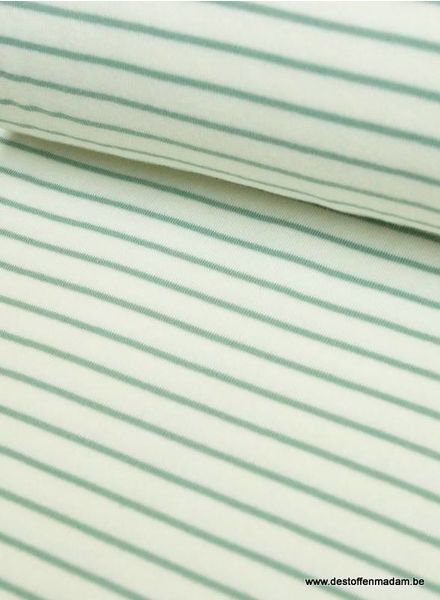 groen stripes spons