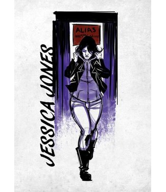 PosterPlate Marvel Metall-Poster: Jessica Jones (The Defenders)