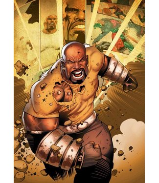 PosterPlate Marvel Metall-Poster: Luke Cage (The Defenders)