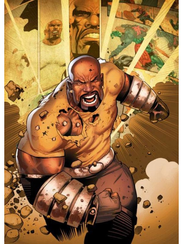 Marvel Metall-Poster: Luke Cage (The Defenders)