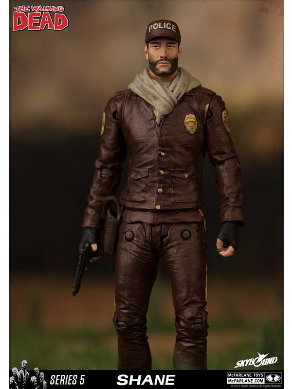 The Walking Dead Comic Series 5: Shane Figur