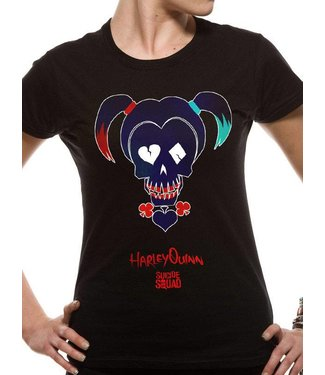 DC Comics Girlie T-Shirts: Harley Quinn (Suicide Squad)
