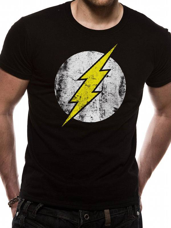 T-Shirts: The Flash (Distressed)