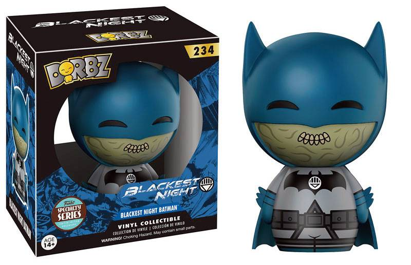 Dorbz: Blackest Night Batman (Specialty Series) Vinyl Figur