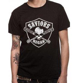 T-Shirts: Negan's Saviors (Lucille Skull Crest)