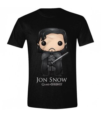 Game of Thrones T-Shirts: Jon Snow (Comic Style)