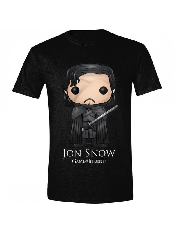 T-Shirts: Jon Snow (Comic Style)
