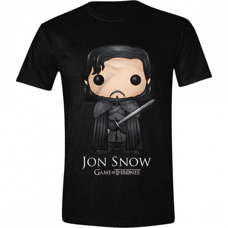 T-Shirts: Jon Snow (Comic Style)