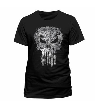 Marvel T-Shirts: The Punisher (Shatter Skull)