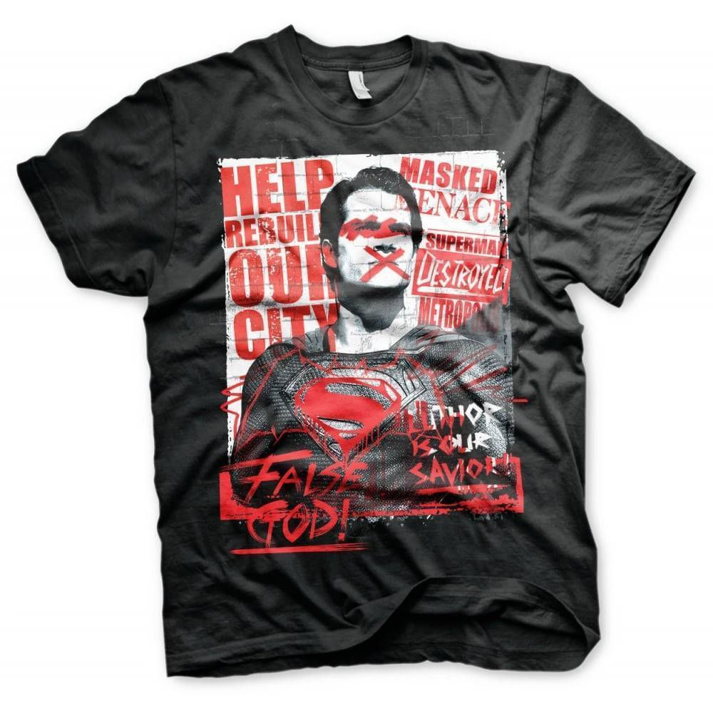 T-Shirts: Superman (False God)