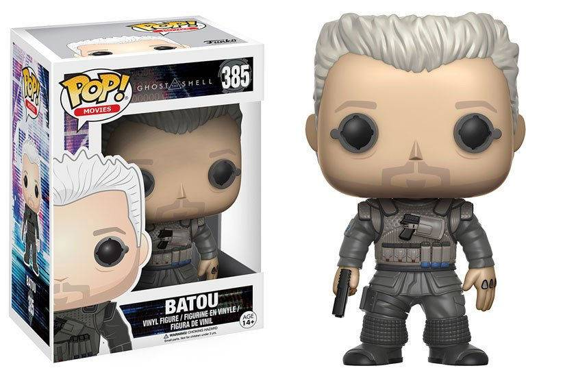 Ghost in the Shell: Batou Vinyl Figur