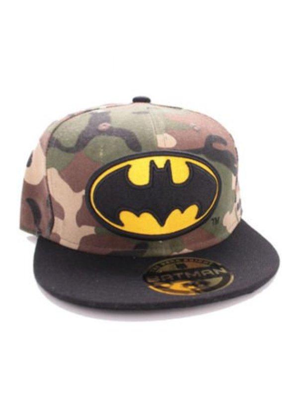 DC: Batman Camouflage Logo Snapback Cap