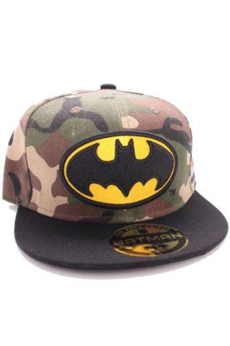 Caps: Batman Camouflage Logo Snapback
