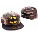 Batman Caps: Batman Camouflage Logo Snapback