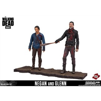McFarlane Toys The Walking Dead: Negan & Glenn Actionfiguren (Deluxe)