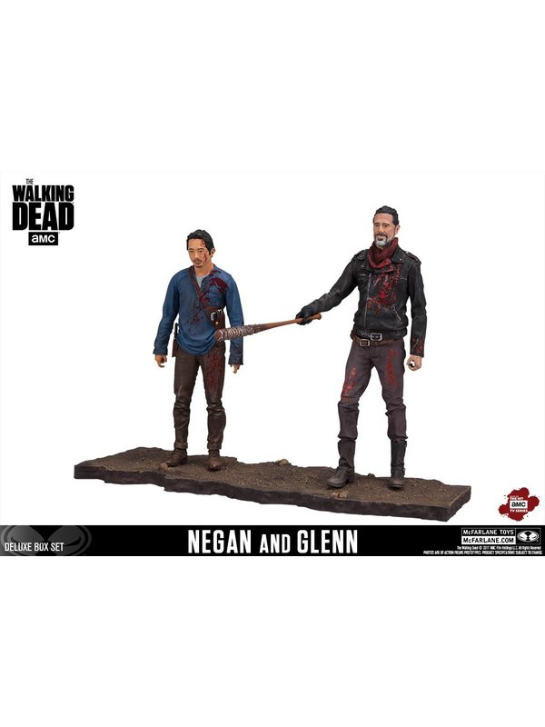 The Walking Dead: Negan & Glenn Actionfiguren (Deluxe)