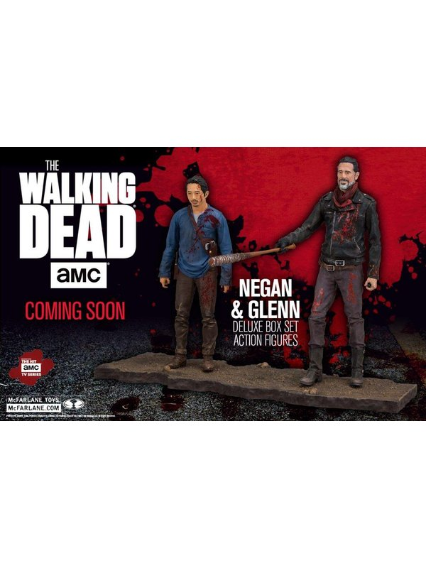 The Walking Dead: Negan & Glenn Actionfiguren (Deluxe)