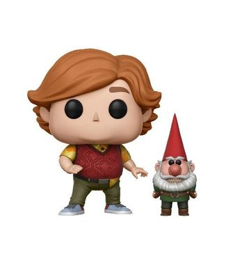 Funko Trollhunters: Toby with Gnome Vinyl Figur