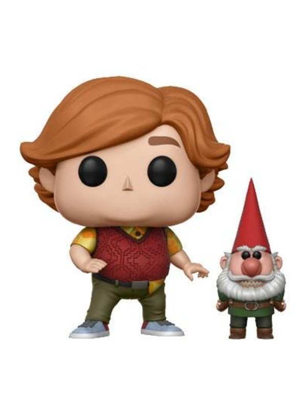 Trollhunters: Toby with Gnome Vinyl Figur