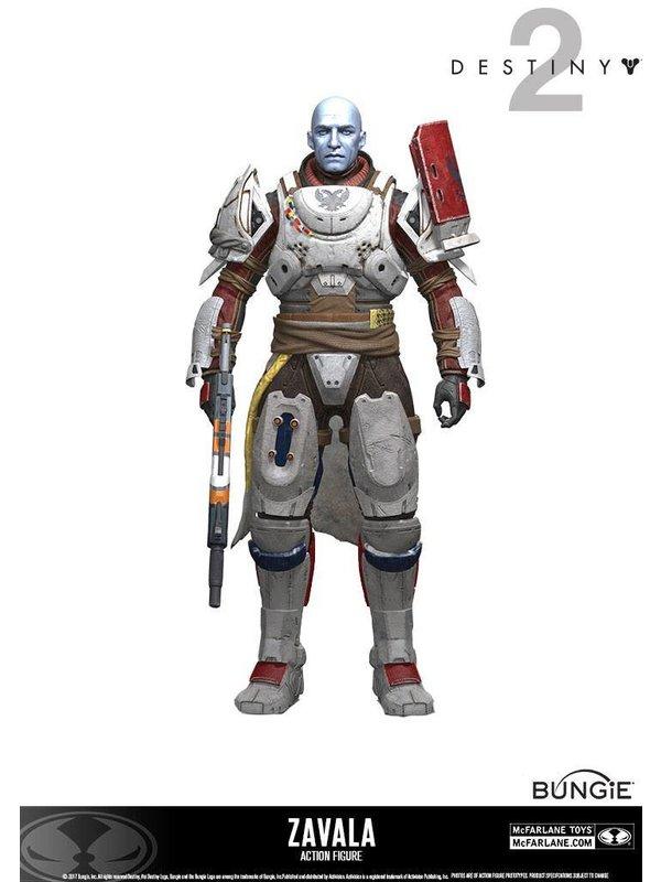 Destiny 2: Zavala Actionfigur