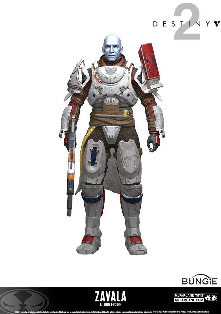 Destiny 2 | Zavala Actionfigur
