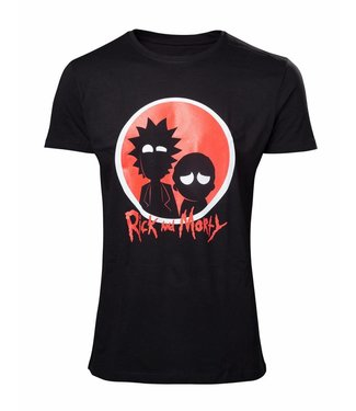 Rick and Morty Rick and Morty: Big Red Logo T-Shirt
