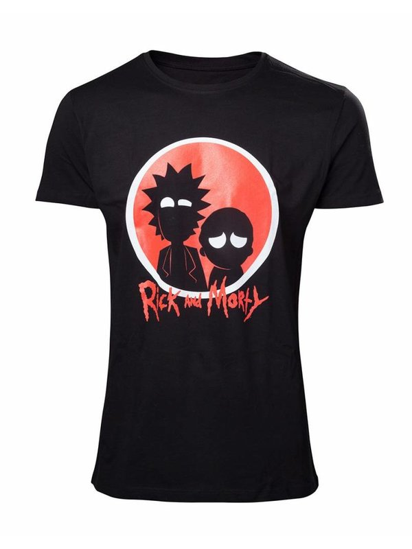 Rick and Morty: Big Red Logo T-Shirt