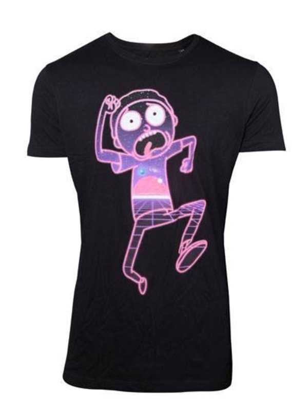 Rick and Morty: Neon Morty T-Shirt