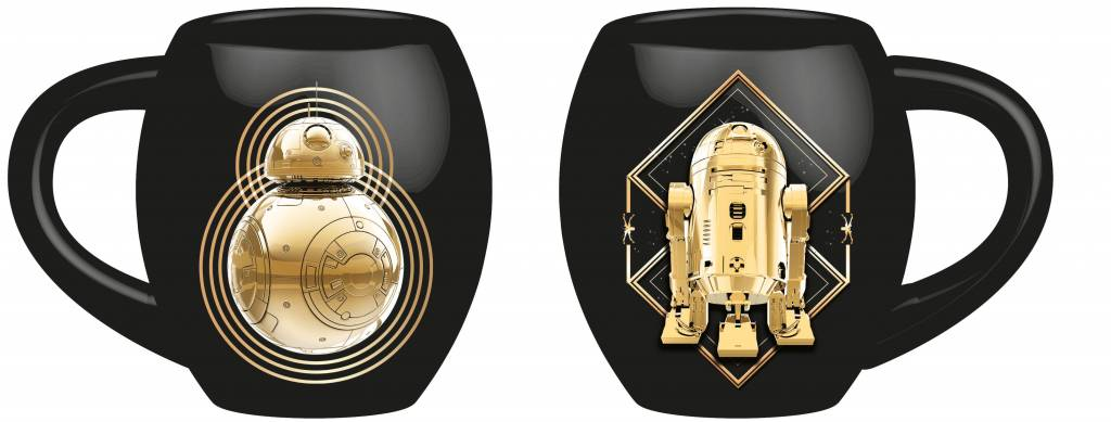 Star Wars: Golden Droids Deluxe Tasse