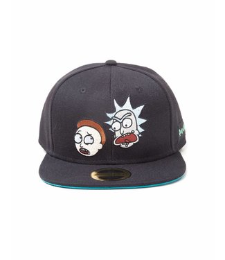 Bioworld Rick and Morty: Crazy Faces Snapback Cap