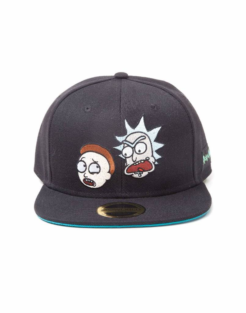 Rick and Morty: Crazy Faces Snapback