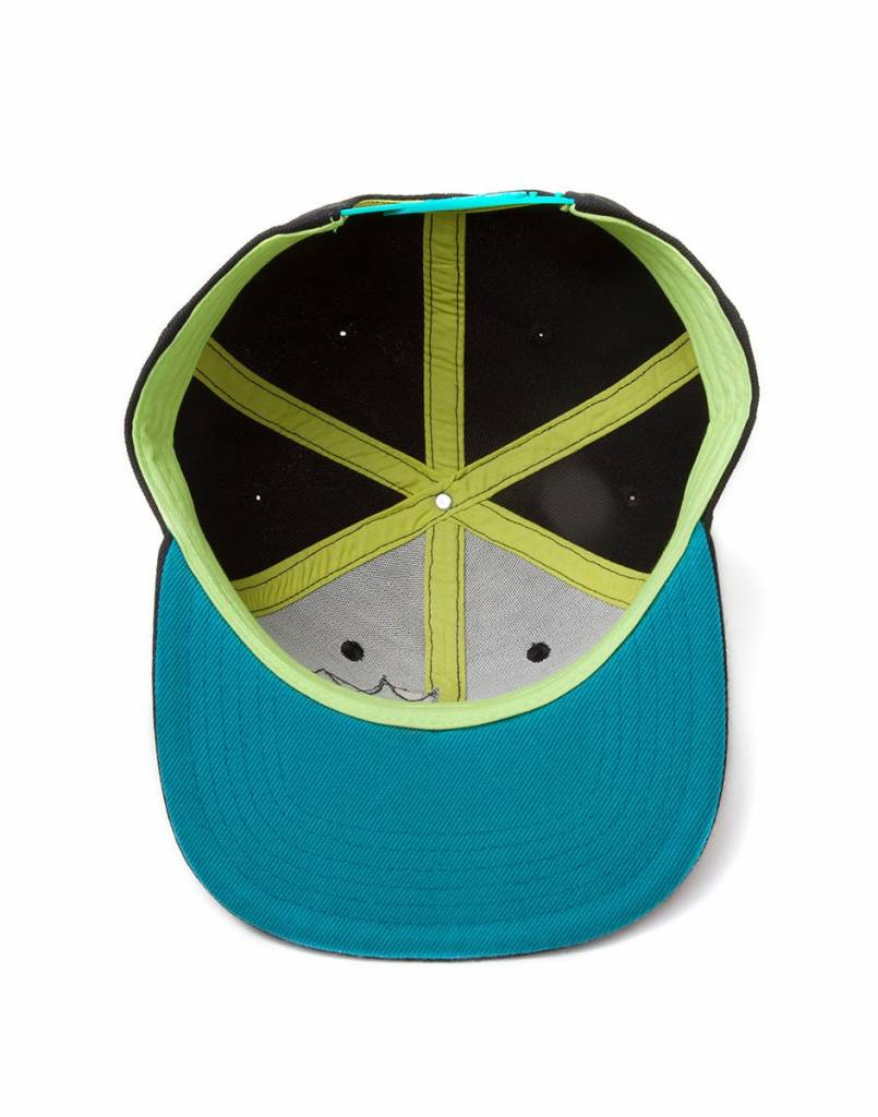 Rick and Morty: Crazy Faces Snapback Cap
