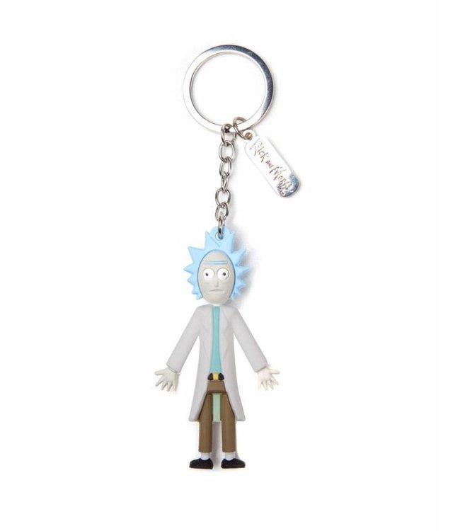 Bioworld Rick and Morty: Rick 3D Schlüsselanhänger