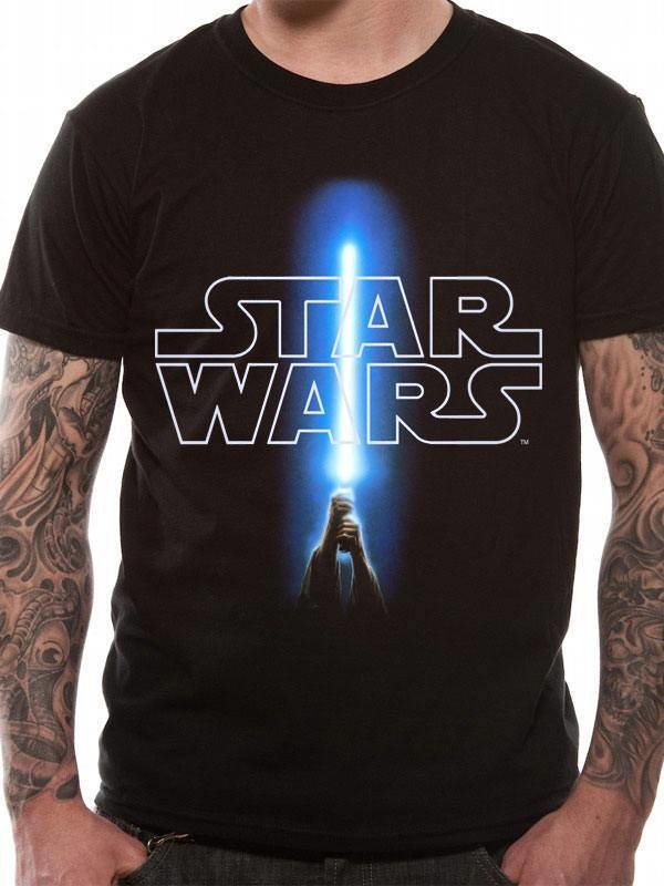 Star Wars: Logo & Saber T-Shirt