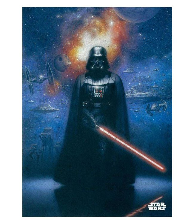 PosterPlate Star Wars: Darth Vader Metall Poster